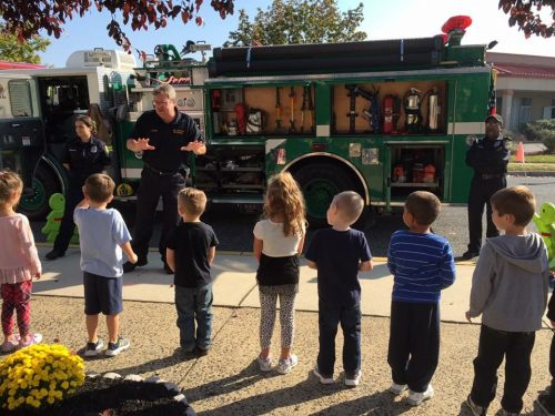 Fire Prevention at Grow N' Learn