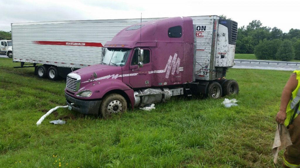 Diesel Spill on 295
