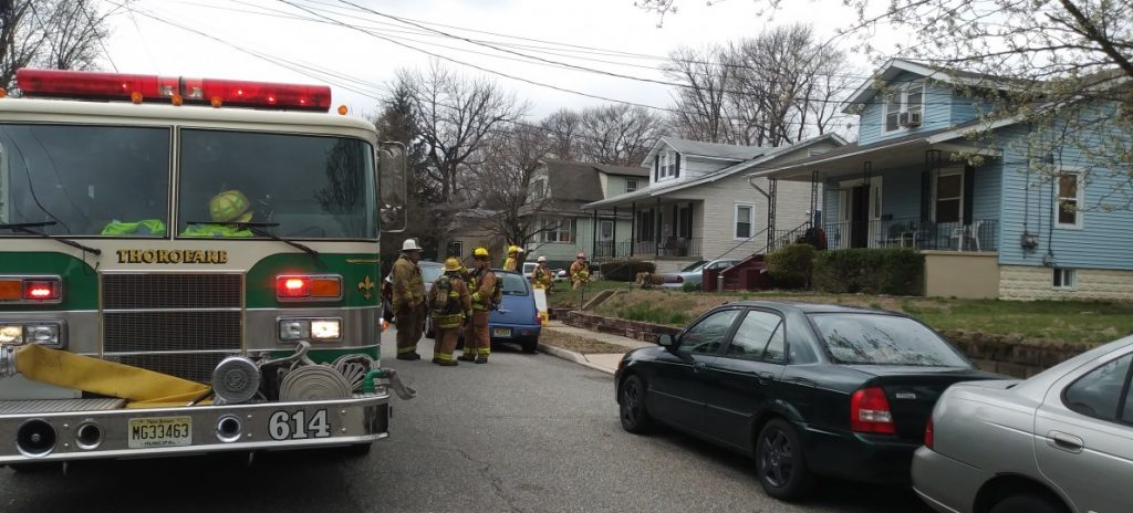 Reported Basement Fire in Colonial Manor