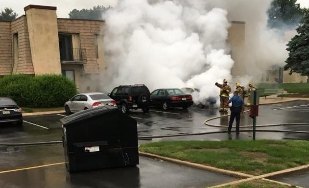 Vehicle Fire Clubhouse Drive