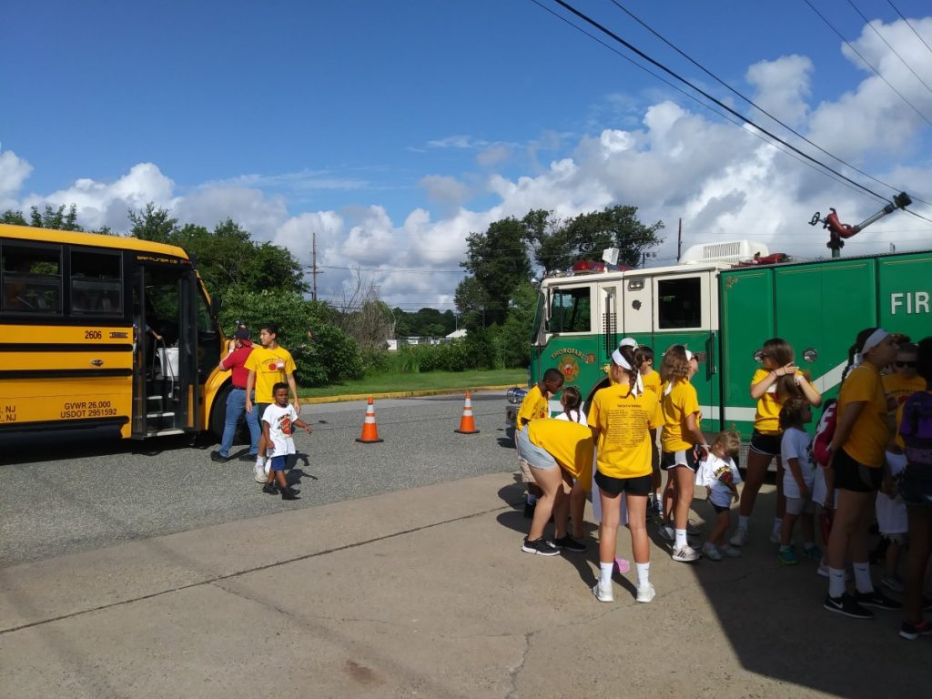 Safety Town visits Fire House