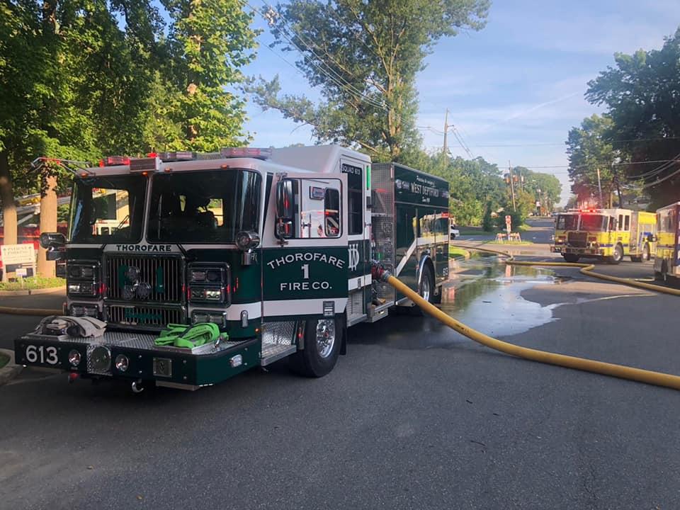 Mutual Aid Fire in Woodbury