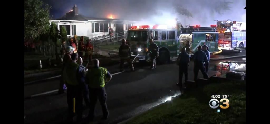 Female Killed, Firefighter Injured in House Fire